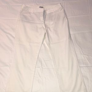 White pants from Express